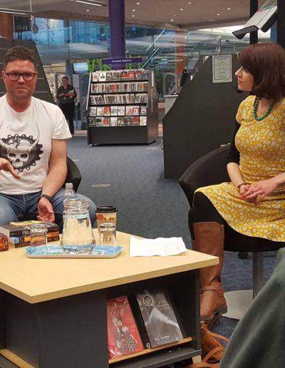 Interviewing Alexander Gordon Smith